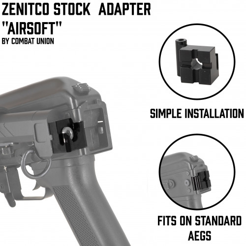 "ZenitCo Stock Adapter ""Airsoft"""