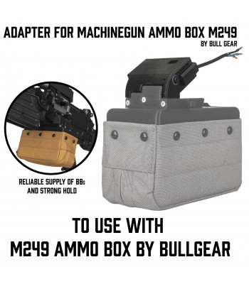 Adapter for Machinegun Ammo Box M249