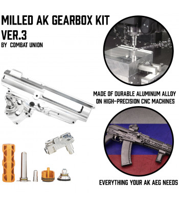 KIT Milled AK Gearbox Ver.3