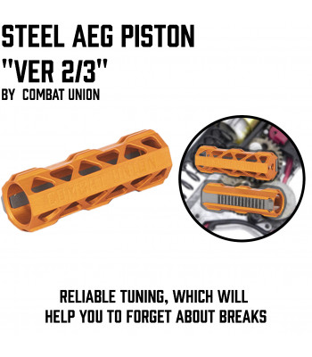 Steel AEG Piston