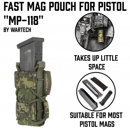 Fast Pistol Mag Pouch MP-118