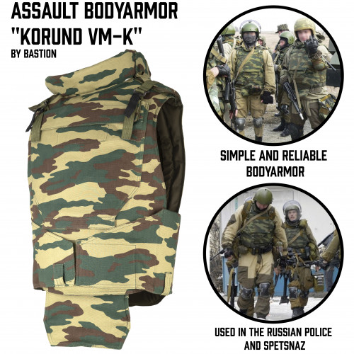 "Assault Bodyarmor ""Korund VM-K"""