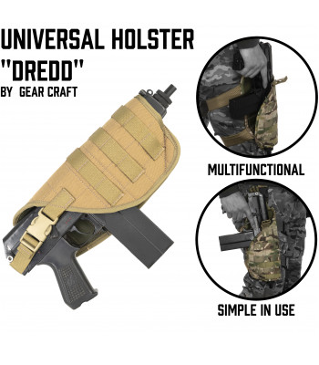 "Holster for SMG ""Dredd"""