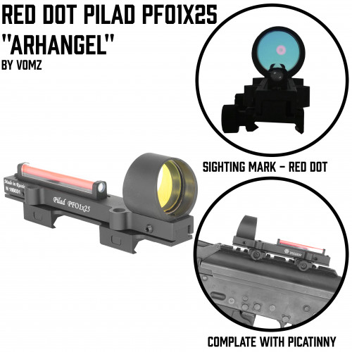 "Red Dot Pilad PK ""1x25 ""Archangel"""