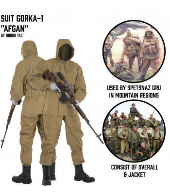 "Suit Gorka 1 ""Afgan"""