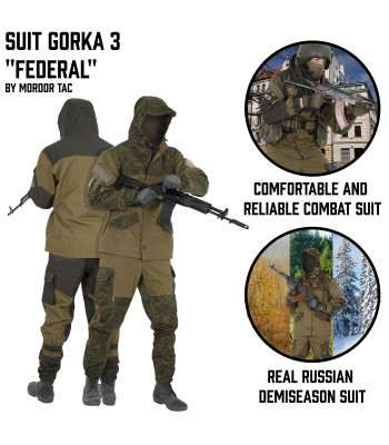 "Suit Gorka 3 ""Federal"""
