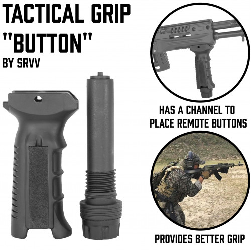 "Tactical Grip ""Button"""