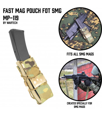 "FAST Mag pouch SMG ""MP-119"""