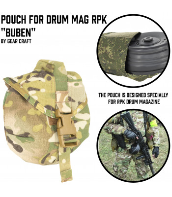 "Pouch for Drum mag RPK ""Buben"""