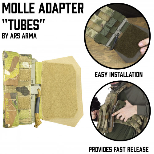 MOLLE Adapter Tubes