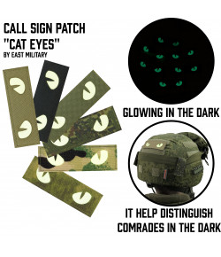 Glowing Call Sign Patch