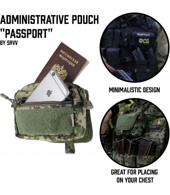 "Administrative Pouch ""Passport"""