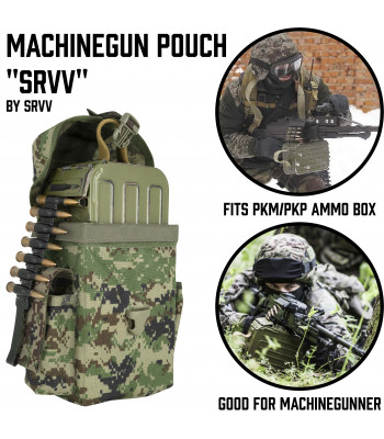 "Machinegun Pouch ""SRVV"""