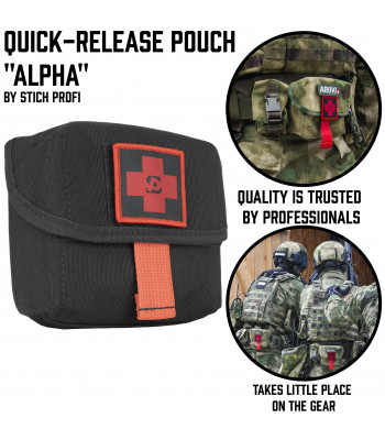 "Quick-Release Pouch ""Alpha"""