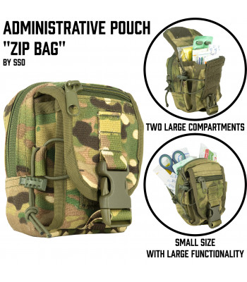 "Administrative Pouch ""Zip Bag"""