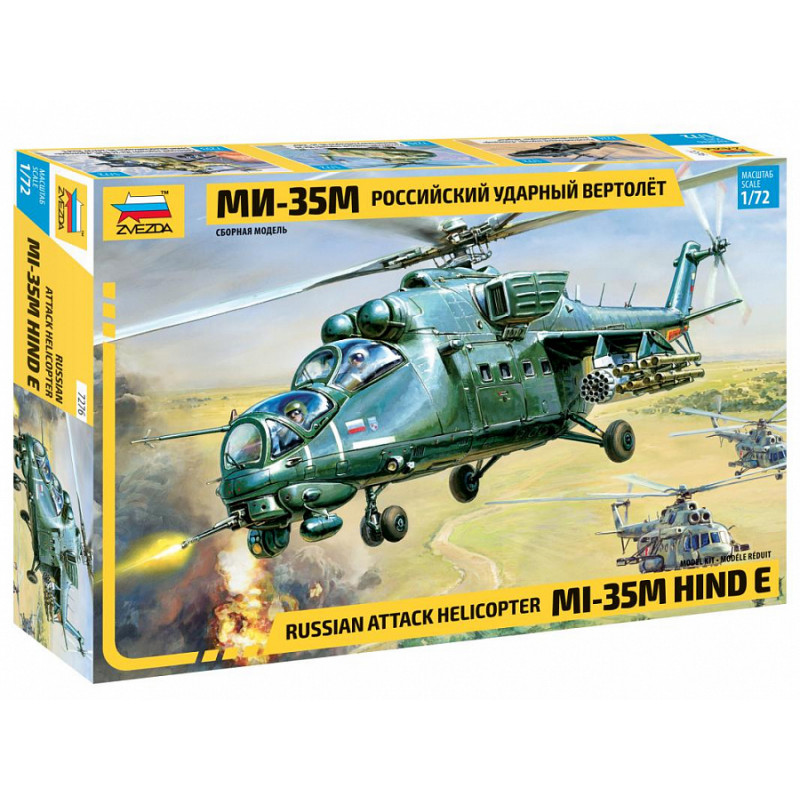 """Russian Attack Helicopter """"MI-35"""""""