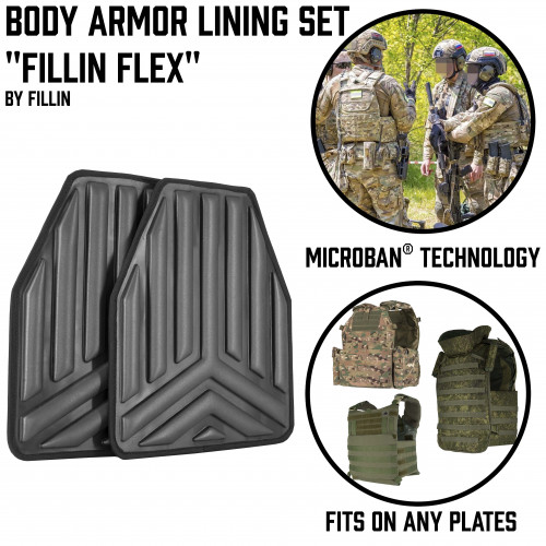 "Body Armor Lining Set ""FILLIN FLEX"""