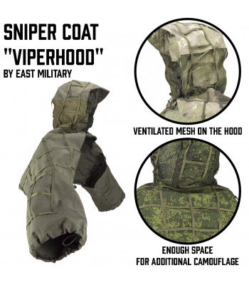 "Sniper Coat ""Viperhood"""