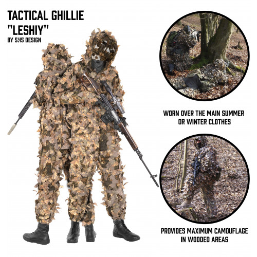 "Tactical Ghillie ""Leshiy"""