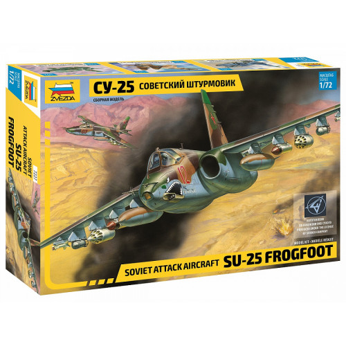"Soviet Attack Aircraft SU-25 ""Frogfoot"""