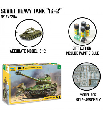 "Soviet Heavy Tank ""IS-2"""