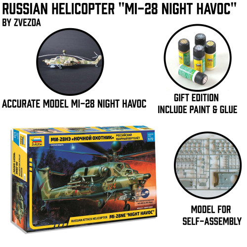 "Russian Helicopter Mi-28 ""Night Havoc"""