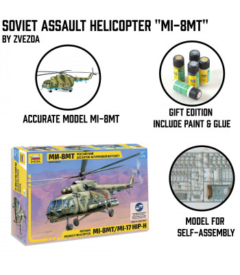 "Soviet Assault Helicopter ""Mi-8"""