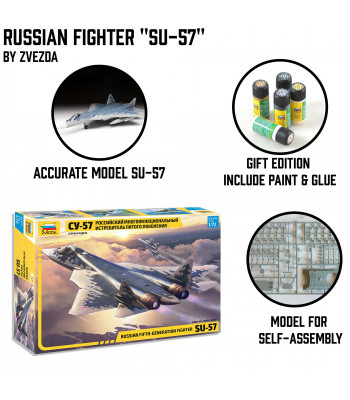 "Russian Fighter ""Su-57"""