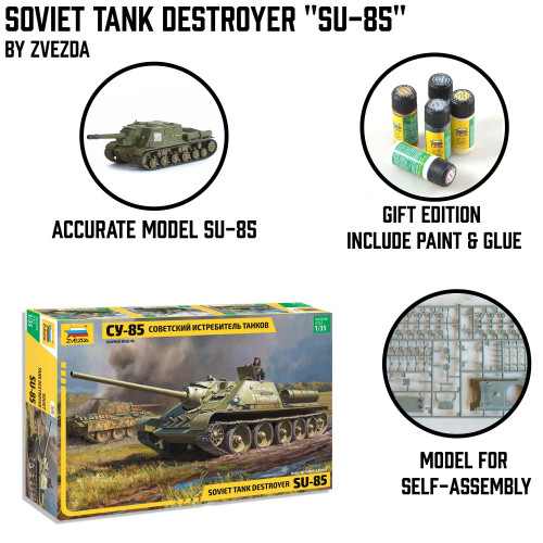 "Soviet Tank Destroyer ""Su-85"""