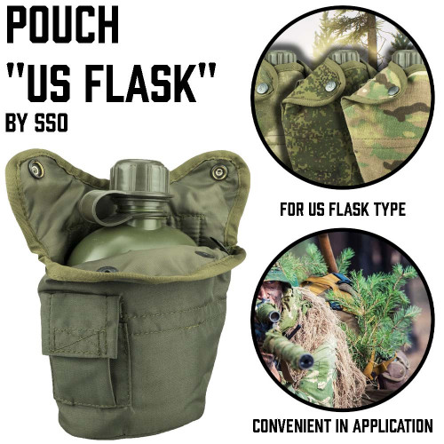 "Pouch ""US Flask"""