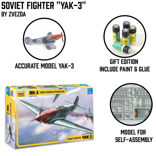 "Soviet Fighter ""YAK-3"""