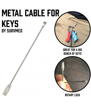 Metal Cable for Keys