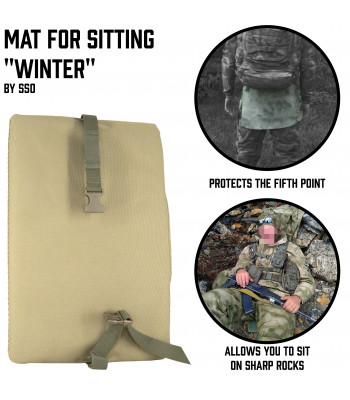 "Mat for Sitting  ""Winter"""