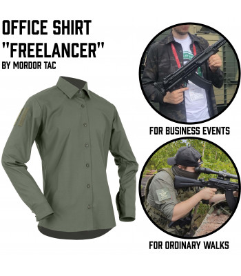 "Office Shirt ""FreelanceR"""