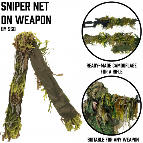 Sniper Net on Weapon