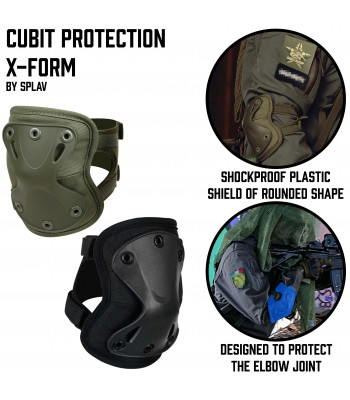 Cubit protection X-Form
