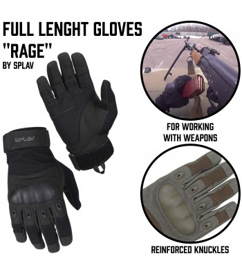 "Full lenght Gloves ""Rage"""