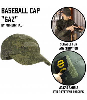 "Tactical Baseball Cap ""Gaz"""