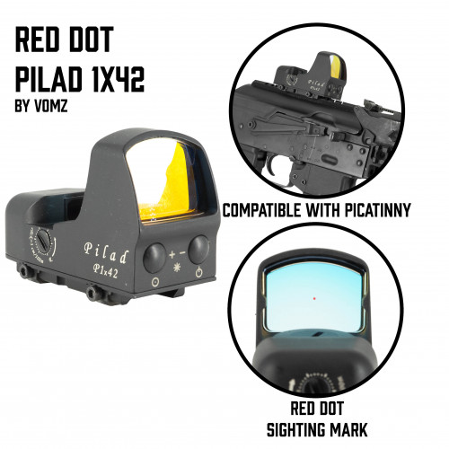 Red Dot Pilad 1x42