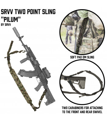 "SRVV Two Point sling ""Pilum"""