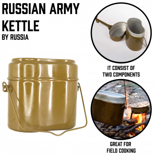 Russian Army Kettle