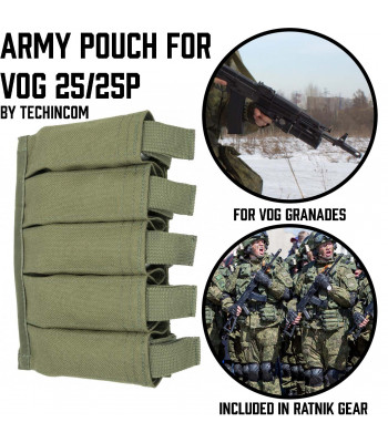 Army Pouch for 5 VOG 25/25P