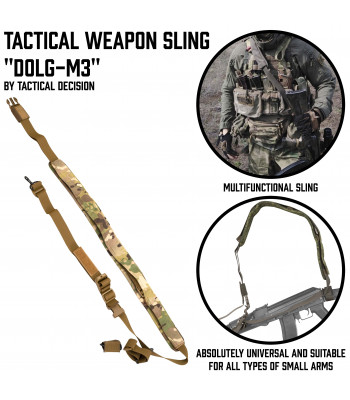"Tactical Weapon Sling ""Dolg-M3"""