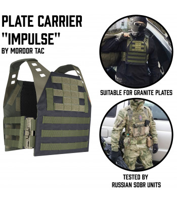 "Plate Carrier ""Impulse"" ROC"