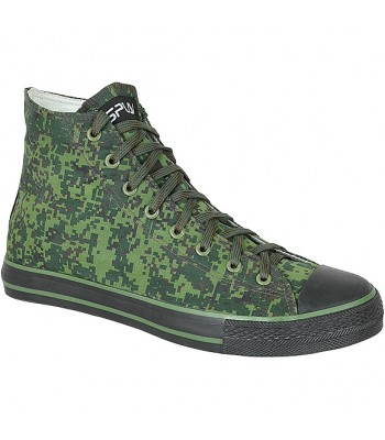Sneakers E-2 Camouflaged