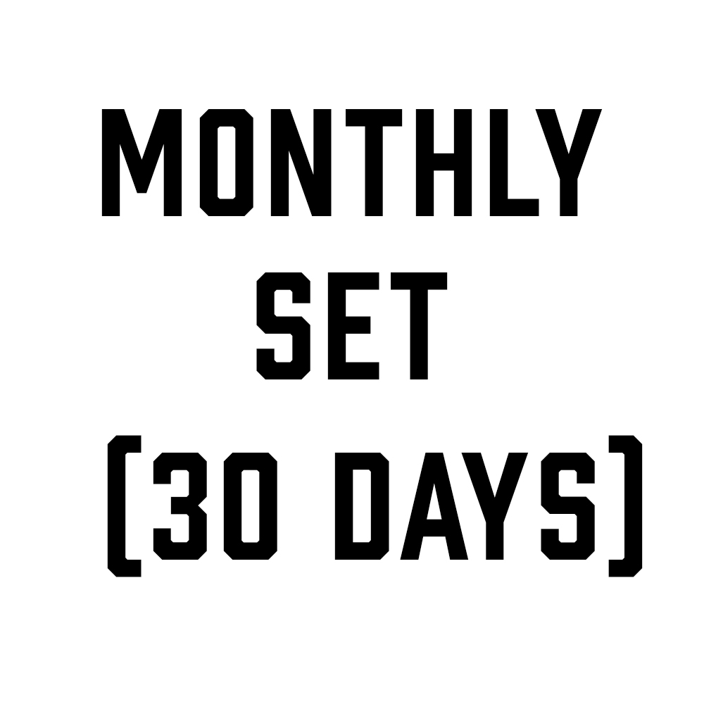 Monthly Set