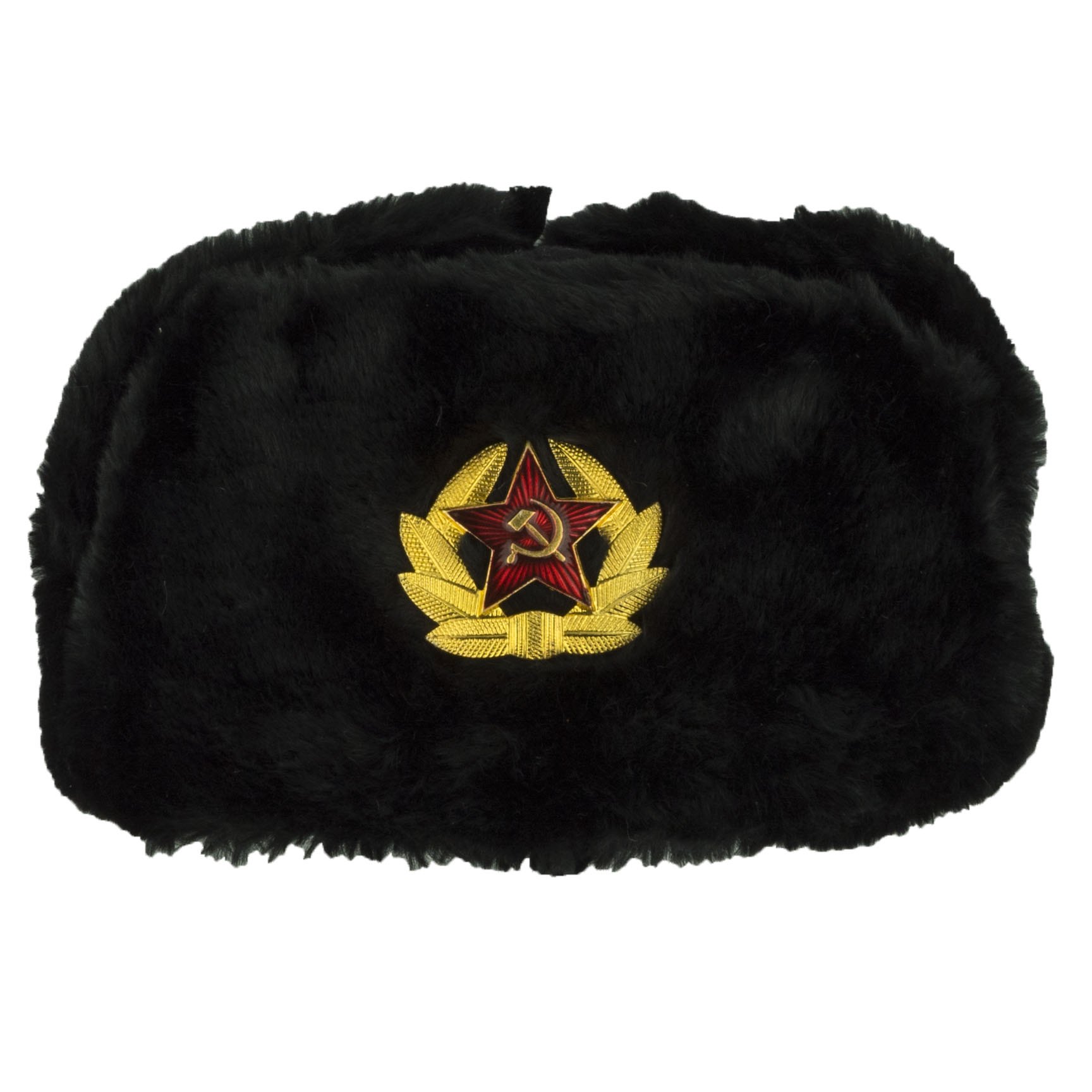 Army Ushanka (Black)