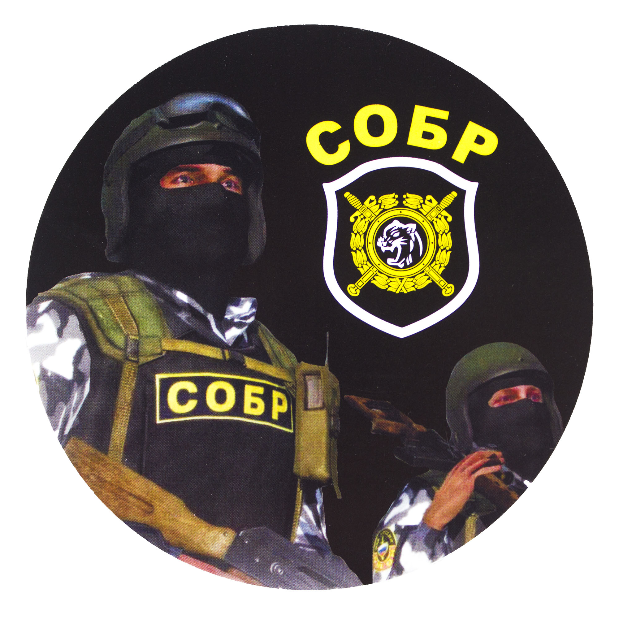 SOBR - Fighter sticker